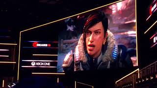 Gears 5 E3 Crowd Reaction! - E3 2018