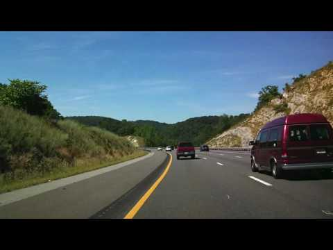 Time Lapse June 19, 2016 I-81 South from Staunton to Bristol