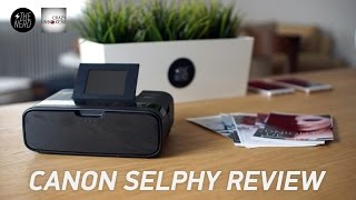 Εκτυπωτής Canon Selphy CP1200 Unboxing & Review (Greek)