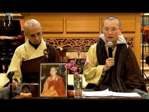Avatamsaka Sutra Lecture 'Sixth Ground' at Berkeley Buddhist Monastery 04 April 2015
