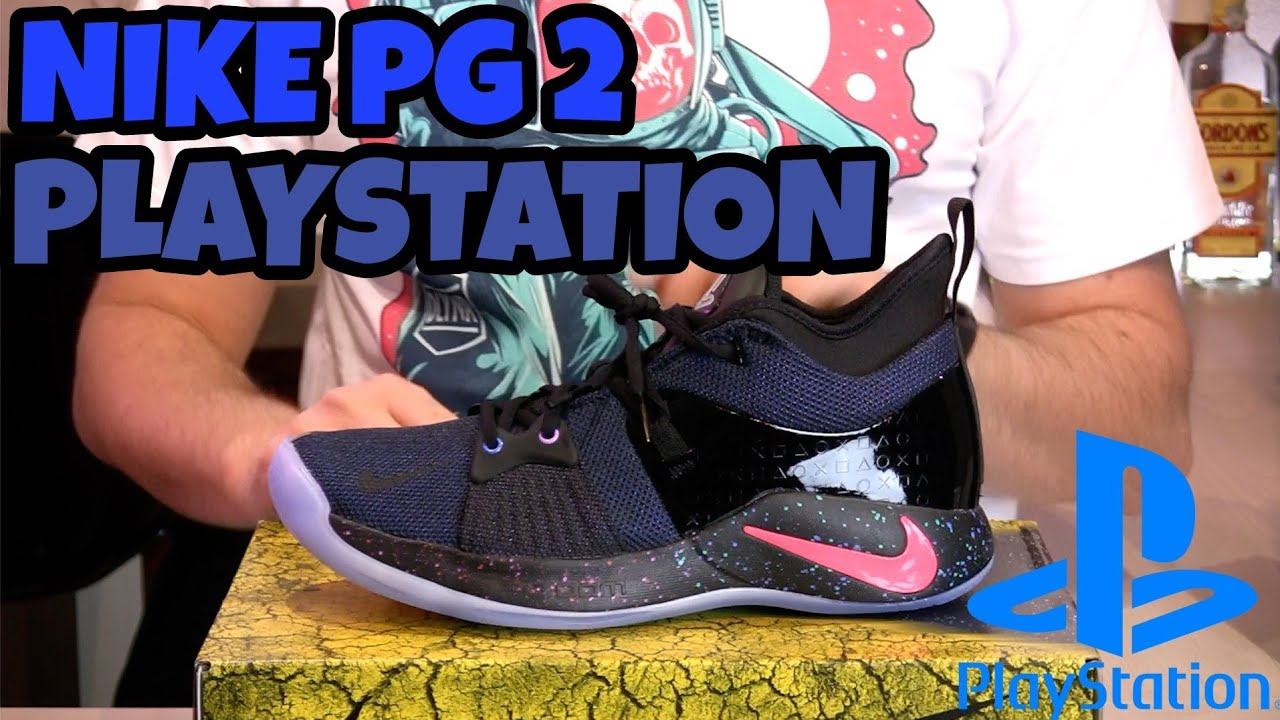 8c216c07aa4 Nike PG 2 PLAYSTATION Paul George Unboxing Recensione Review ITA ...