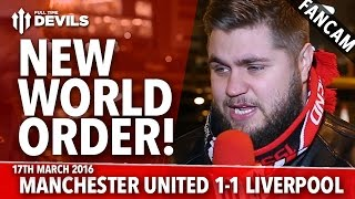New World Order! | Manchester United 1-1 Liverpool | FANCAM