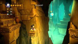Castle of Illusion Starring Mickey Mouse 100% Walkthrough P.5 - The Storm  - Act 1