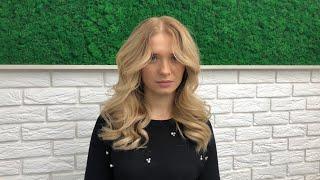Красивые легкие локоны на длинные волосы Прическа на длинные волосы 2020