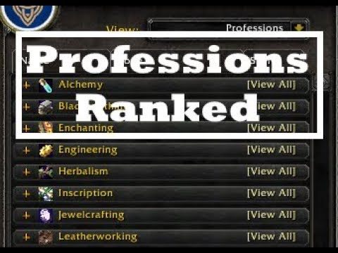 Legion Professions Ranked | What is the Best Gold Making Profession for 7.3.5?