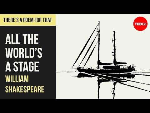 """Video image: """"All the World's a Stage"""" by William Shakespeare"""