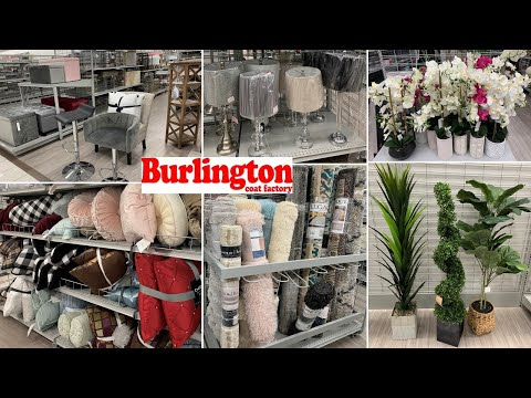 Burlington Furniture & Home Decor | Shop With Me 2020