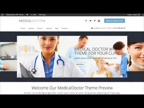 MedicalDoctor WordPress Theme Installation