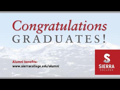 Sierra College Virtual Commencement 2019 2020