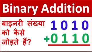 Binary Number Addition method -