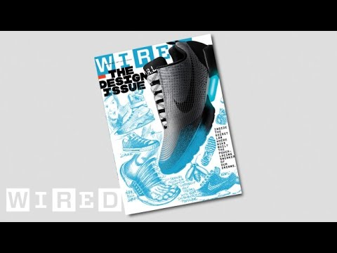 Nike's Tinker Hatfield Draws The HyperAdapt 1.0 On WIRED's Cover