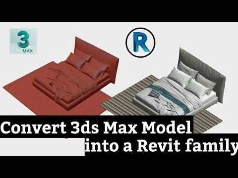 Revit Architecture | Convert 3ds Max Model Into a Revit Family
