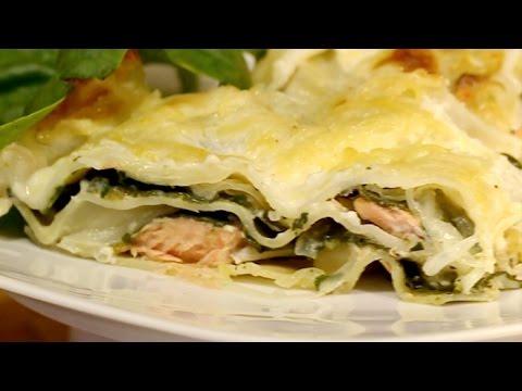 recette-:-les-lasagnes-au-saumon-et-aux-épinards