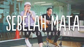 SEBELAH MATA - ARMAND MAULANA (NEW SINGLE) LIVE AT DETIKCOM
