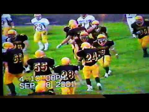 Mesabi Range College Football Highlights 2001