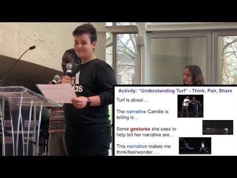 Scarlett Middle School's interdisciplinary unit RE Camille Brown