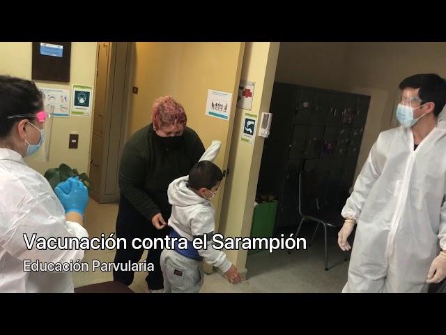 Vacunación en Pumahue Temuco