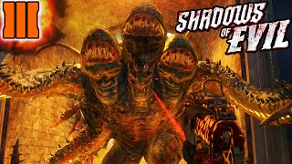 Shadows of Evil | How to KILL MARGWA ZOMBIE BOSS EASY! Margwa Secrets! (Black Ops 3 Zombies)