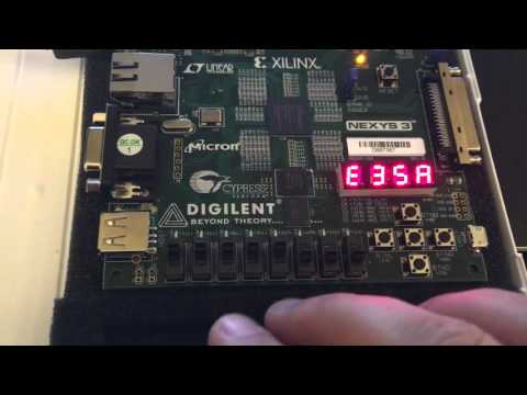 EL6453 - Final Project - Rijndael AES256 Encryption/Decryption On Spartan6 FPGA