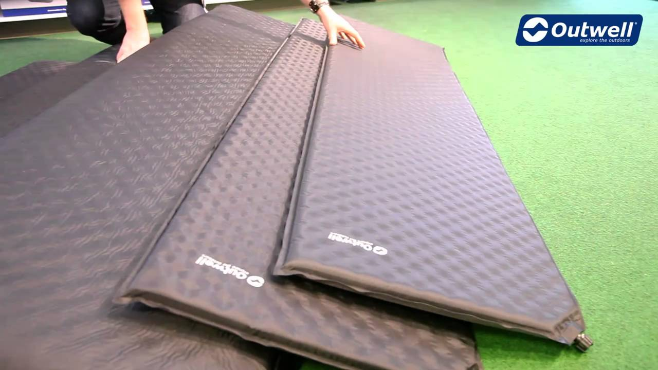 Self Inflating Matras : Outwell comfort self inflating mats youtube