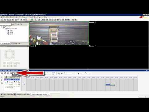 Using The Rasplus Software To Copy CCTV Footage