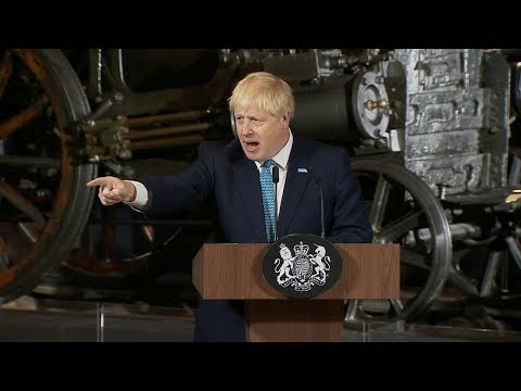 Watch again: Boris Johnson gives speech in Manchester