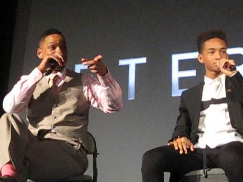 Will Smith Being Rejected By Girls Helped Him Act | After Earth Q&A London