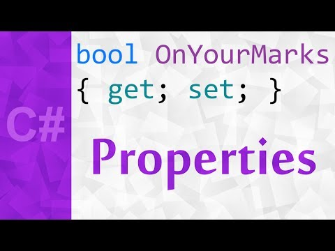 [C#] Properties & Accessors Tutorial with Examples | get, set & value keywords in C#