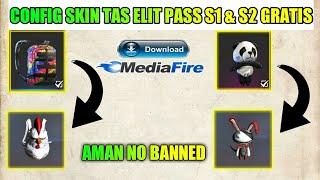UPDATE SKIN GRATIS FREE FIRE !! CARA MENDAPATKAN SKIN TAS SEASON 1 & 2 | FREE FIRE BATLEGRAUND