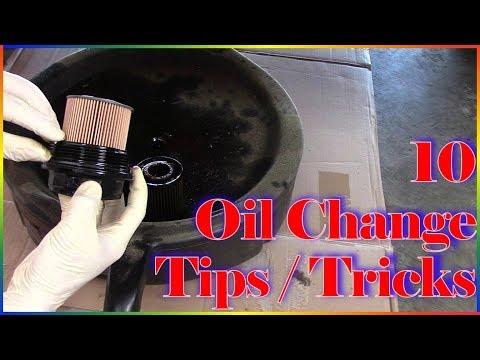 Amazing Oil Change Tips & Tricks