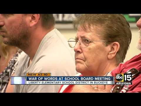 Buckeye parents infuriated after school board sides with superintendent