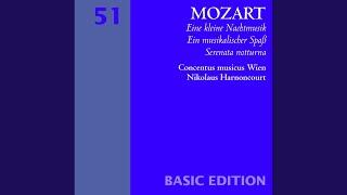 Ein Musikalischer Spass [A Musical Joke] K522 : III Adagio cantabile