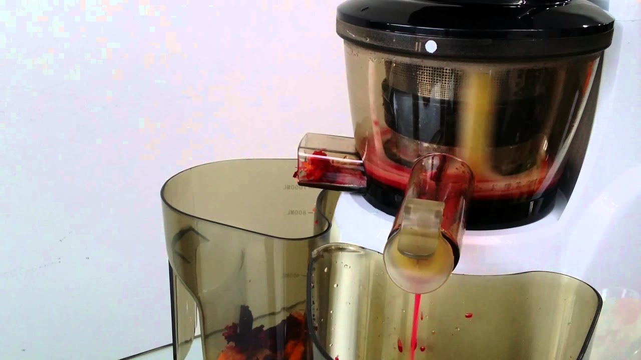Hyundai Slow Juicer Hysj 7730 : Hyundai Slow Juicer - YouTube
