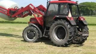 baling with case ih 1494