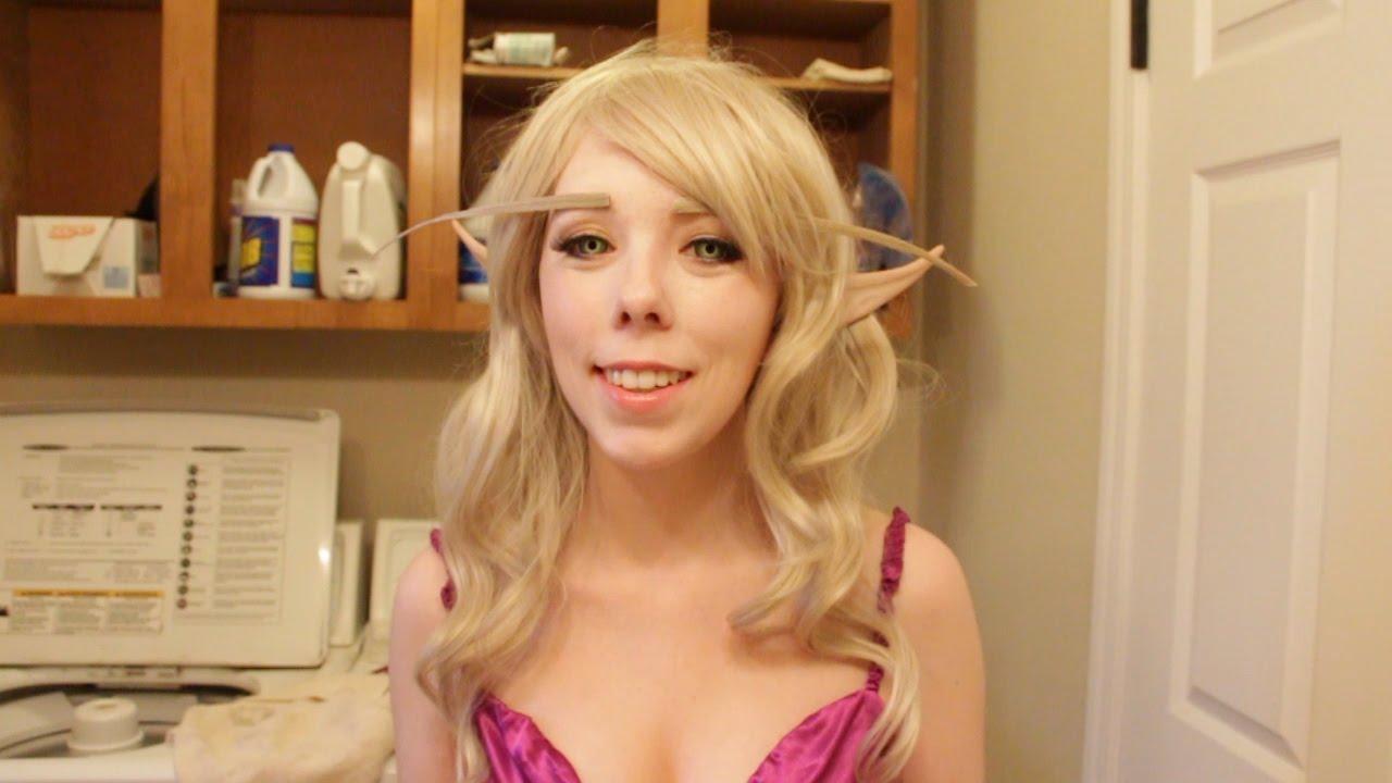 Blood Elf Makeup Tutorial