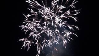 HD 宮津燈籠流し花火大会2012 第一部・第二部 Miyazu Toro nagashi