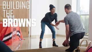 Browns' Seth DeValve and wife make an impact in community | Cleveland Browns | Building the Browns