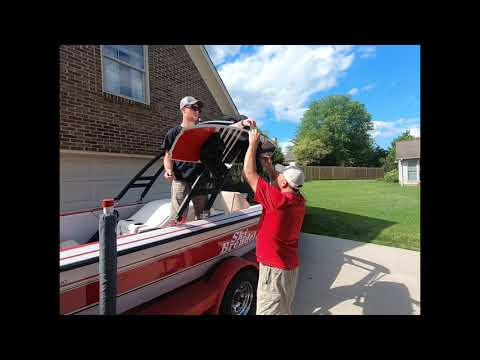 how to install a wakeboard rack