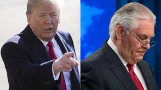Дональд Трамп уволил Рекса Тиллерсона с поста госсекретаря
