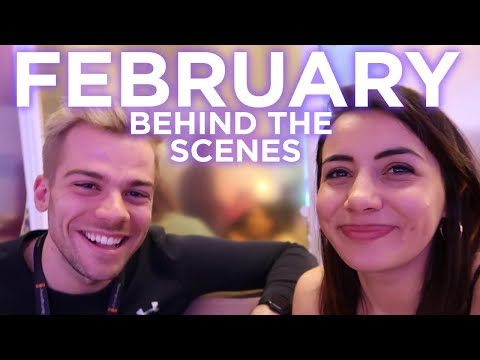 Behind The Scenes on FEBRUARY! ❤️