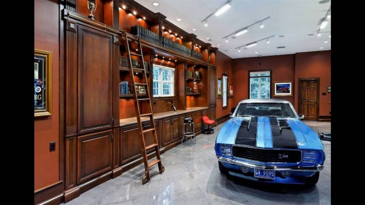 Garage Man Cave ideas - YouTube