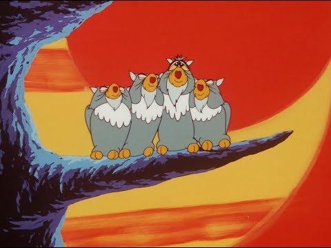 Owls' Lullaby ENG SUB! HD KIMBA / JUNGLE EMPEROR 1965  (ふくろうの子守歌)