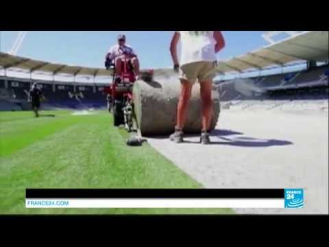 The AirFibr hybrid grass technology on France 24