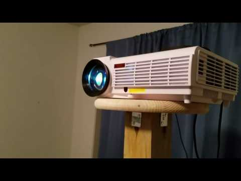 5500 lumen projector from AliExpress REVIEW sold by smartidea