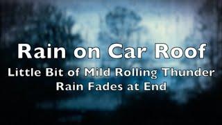 Driving in the Rain - Sleep Aid Sounds
