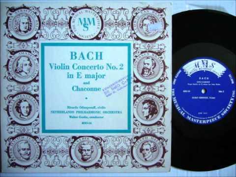 Ricardo Odnoposoff Chaconne Bach