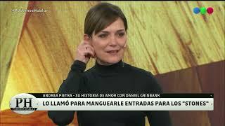 Andrea Pietra y la historia de amor con Daniel Grinbank- Podemos Hablar 2021