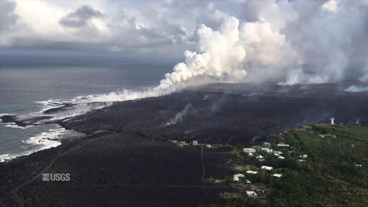 Kīlauea Volcano - Ocean Entry and Laze