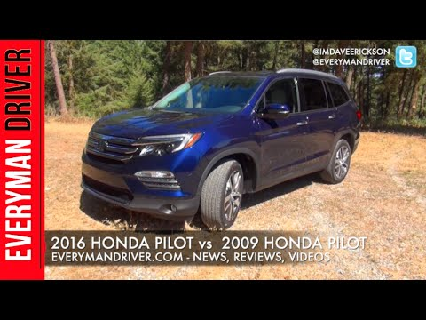 Old vs. New: 2016 Honda Pilot vs 2009 Honda Pilot on Everyman Driver