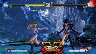 Street Fighter V AE Juri vs Karin PC Mod